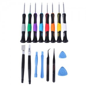 16 in 1 Repair Tools Screwdrivers Set Kit For Mobile Phone iPhone 5 4S 3GS iPad4