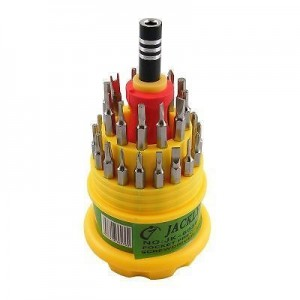 31 in 1 Screw Driver Set Tool Kit for Laptop, PC, Mobile, Tablet