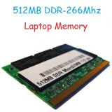512MB DDR-266Mhz Laptop Memory (RAM) PC2100