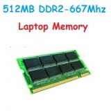 512MB DDR2-667Mhz Laptop Memory (RAM) PC2-5300s