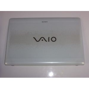Sony VAIO VPCEB Series LCD Back Cover with bezel White