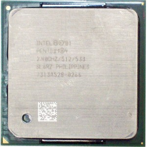 Intel Pentium 4 2.4Ghz Socket 478 SL6RZ CPU Processor