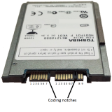 "1.8"" 120GB Laptop SATA Hard Disk (HDD)"