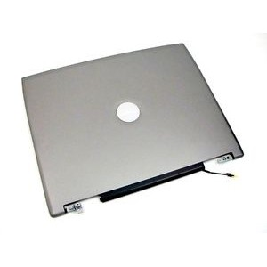 Dell Latitude D520 D530 LCD Back Cover& Hinges MG042 0MG042
